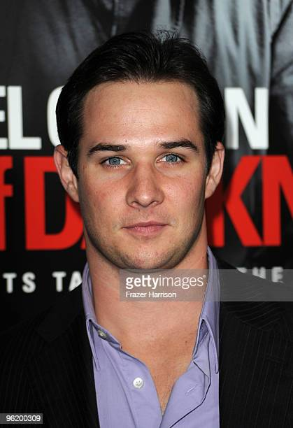 Actor Ryan Merriman arrives at the Premiere Of Warner Bros 'The Edge Of Darkness' held at the Grauman's Chinese Theatre on January 26 2010 in...