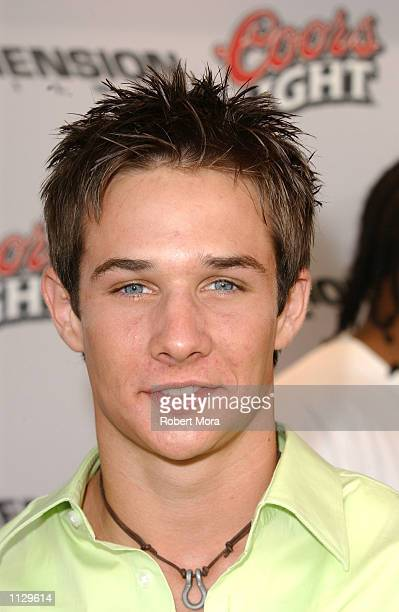 Actor Ryan Merriman attends the premiere of Halloween Resurrection at the Mann Festival Theater on July 1 2002 in Westwood California The film opens...