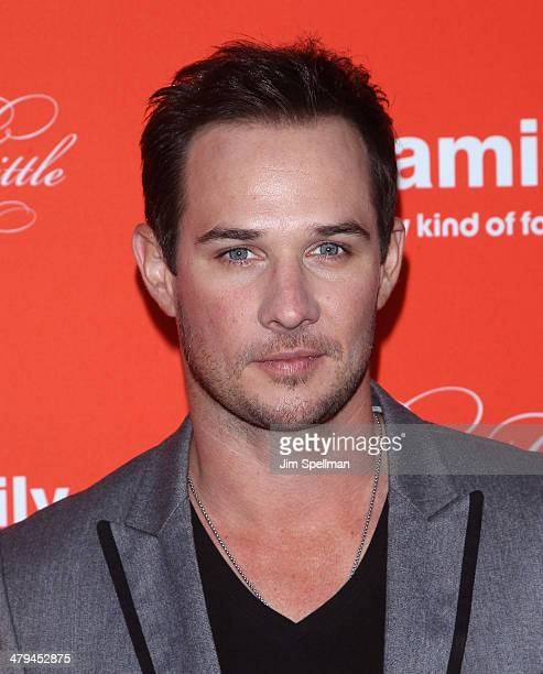 Actor Ryan Merriman attends the 'Pretty Little Liars' season finale screening at Ziegfeld Theater on March 18 2014 in New York City