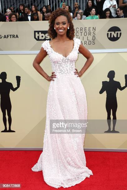 Actor Ryan Michelle Bathe attends the 24th Annual Screen Actors Guild Awards at The Shrine Auditorium on January 21 2018 in Los Angeles California...