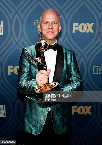 Actor Ryan Murphy attends the FOX Broadcasting Company FX National Geographic And Twentieth Century Fox Television's 68th Primetime Emmy Awards after...