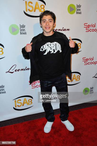 Actor Ryan Ochoa arrives at the 8th Annual Indie Series Awards at The Colony Theater on April 5 2017 in Burbank California