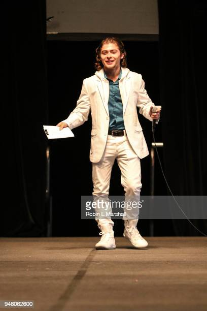 Actor Ryan Ochoa attends the 12th Annual Santee High School Fashion Show at Los Angeles Trade Technical College on April 13 2018 in Los Angeles...