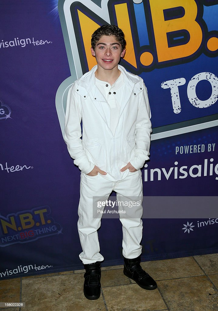 Actor Ryan Ochoa attends the Radio Disney's 'N.B.T.' (Next BIG Thing) season five winner announcements at The Americana at Brand on December 8, 2012 in Glendale, California.