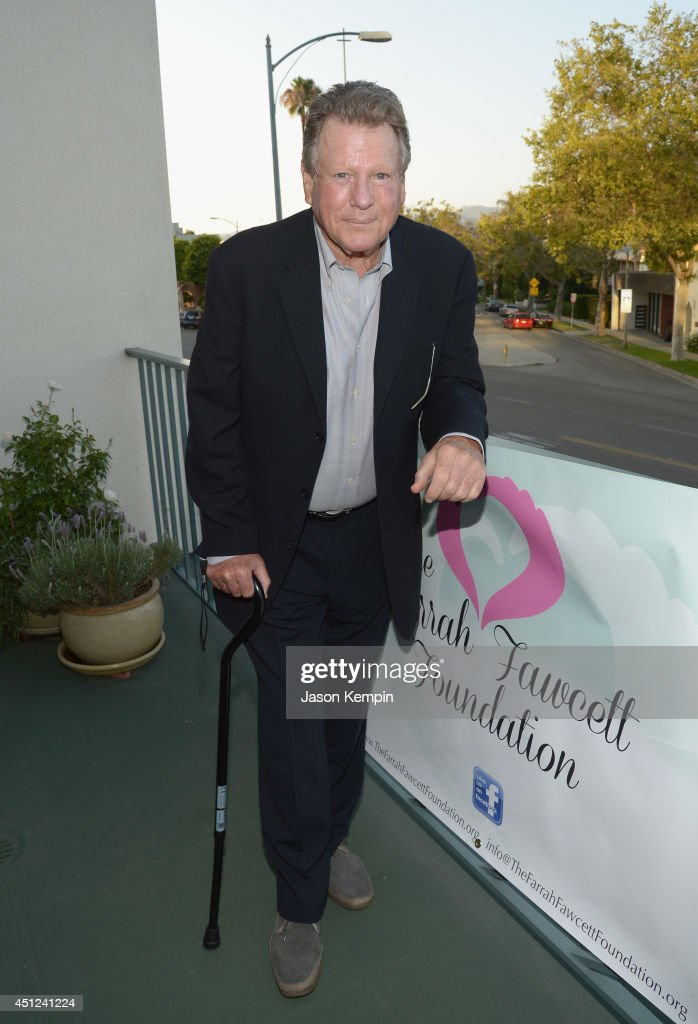 Actor Ryan O'Neal attends the Farrah Fawcett 5th Anniversary Reception at the Farrah Fawcett Foundation on June 25, 2014 in Beverly Hills, California.