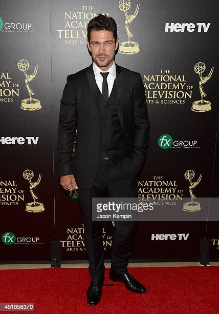 Actor Ryan Paevey attends The 41st Annual Daytime Emmy Awards at The Beverly Hilton Hotel on June 22 2014 in Beverly Hills California