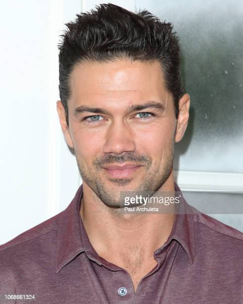 Actor Ryan Paevey visits Hallmark's 'Home Family' at Universal Studios Hollywood on November 16 2018 in Universal City California