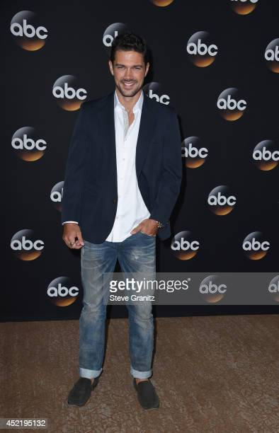 Actor Ryan Peavey attends the Disney/ABC Television Group 2014 Television Critics Association Summer Press Tour at The Beverly Hilton Hotel on July...