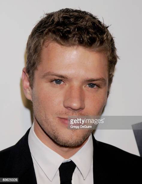 Actor Ryan Phillippe arrives at The Behind the Camera Awards presented by Hamilton and Hollywood Life at The Highlands on November 9 2008 in Los...