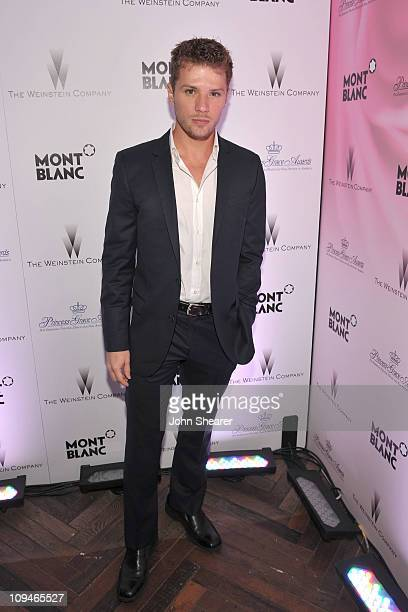 Actor Ryan Phillippe arrives at the Montblanc Cocktail Party cohosted by Harvey and Bob Weinstein celebrating the Weinstein Company's Academy Award...
