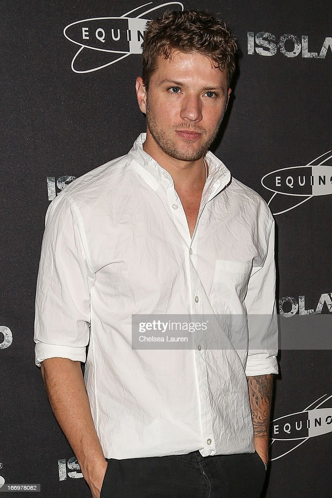 Actor Ryan Phillippe arrives at the premiere of 'Isolated' at Equinox Sports Club West LA on April 18, 2013 in Los Angeles, California.