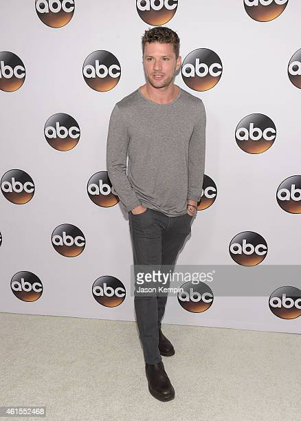 Actor Ryan Phillippe attends the Disney ABC Television Group's TCA Winter Press Tour on January 14 2015 in Pasadena California