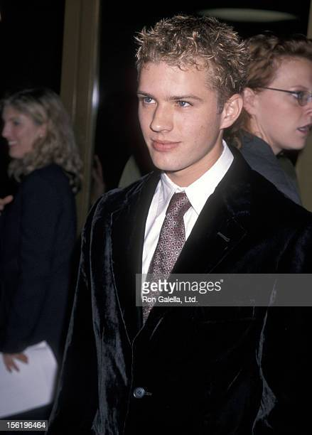 Actor Ryan Phillippe attends the 'Pleasantville' Westwood Premiere on October 19 1998 at Mann National Theatre in Westwood California