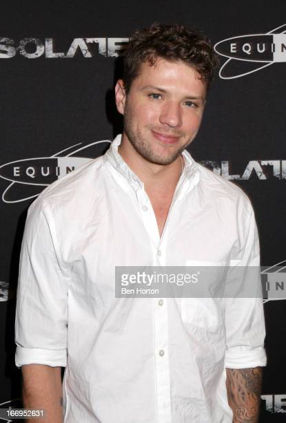 Actor Ryan Phillippe attends the premiere of 'Isolated' at Equinox Sports Club West LA on April 18 2013 in Los Angeles California