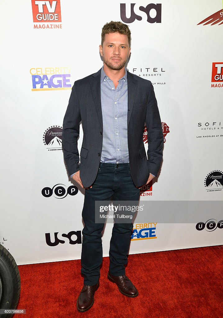 Actor Ryan Phillippe attends TV Guide Magazine And USA Network's celebration of USA's 'Shooter' at Sofitel Hotel on November 2, 2016 in Los Angeles, California.