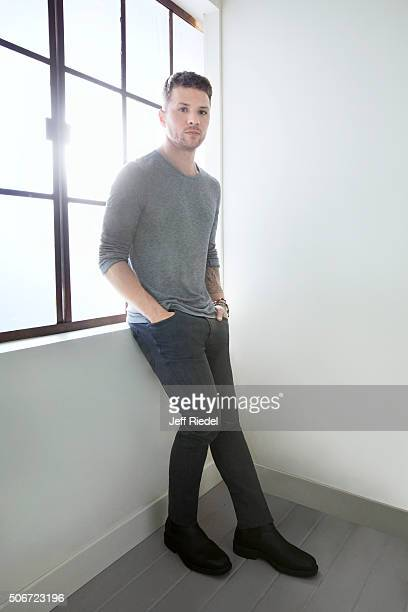 Actor Ryan Phillippe is photographed for TV Guide Magazine on January 14 2015 in Pasadena California