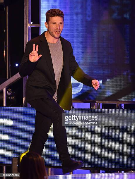 Actor Ryan Phillippe speaks onstage during the PEOPLE Magazine Awards at The Beverly Hilton Hotel on December 18 2014 in Beverly Hills California