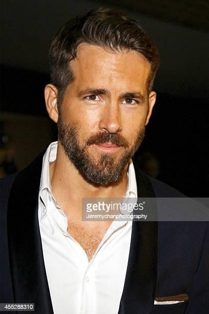 Actor Ryan Reynolds arrives at The Voices Premiere during the 2014 Toronto International Film Festival held at Ryerson Theatre on September 11 2014...