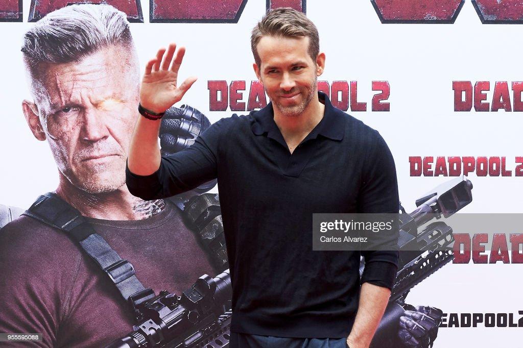 'Deadpool 2' Madrid Photocall : News Photo
