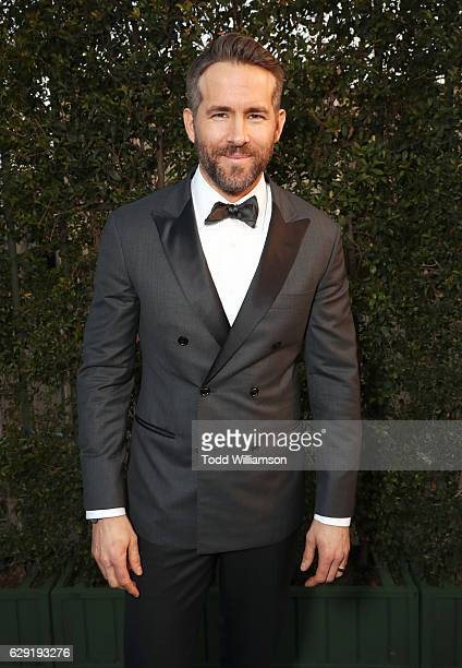 Actor Ryan Reynolds attends the 22nd annual Critics' Choice Awards with Porsche and the 2017 Panamera 4 EHybrid Executive at Barker Hangar on...