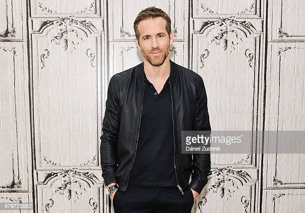 Actor Ryan Reynolds attends the AOL Build Presents Selfless at AOL Studios In New York on July 6 2015 in New York City