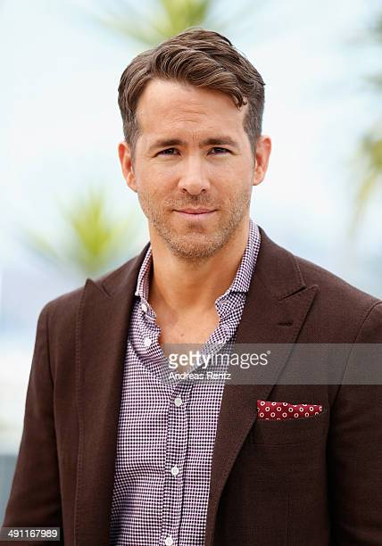 Actor Ryan Reynolds attends the Captives photocall during the 67th Annual Cannes Film Festival on May 16 2014 in Cannes France