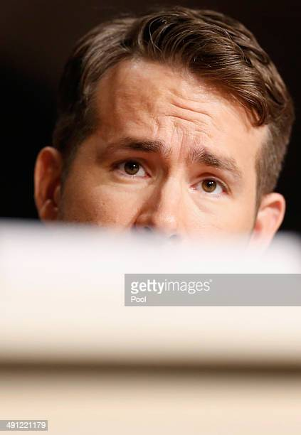 Actor Ryan Reynolds attends the Captives press conference during the 67th Annual Cannes Film Festival on May 16 2014 in Cannes France