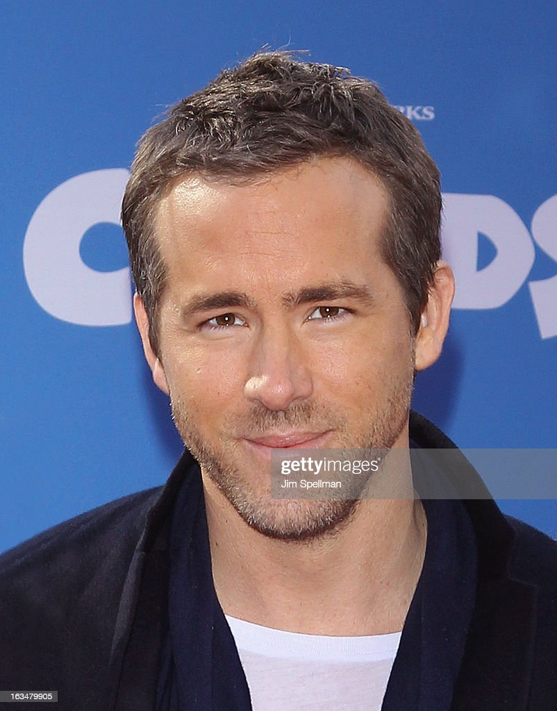 Actor Ryan Reynolds attends 'The Croods' premiere at AMC Loews Lincoln Square 13 theater on March 10, 2013 in New York City.