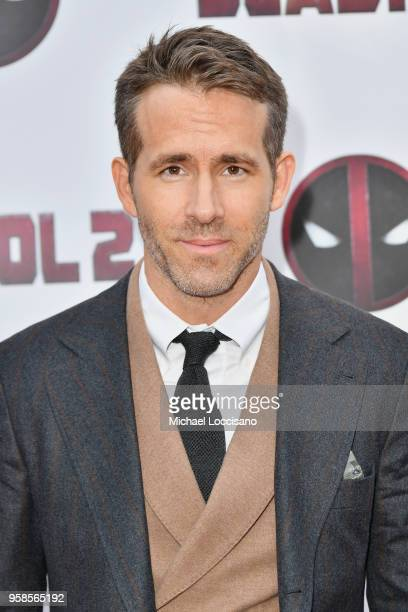 Actor Ryan Reynolds attends the 'Deadpool 2' screening at AMC Loews Lincoln Square on May 14 2018 in New York City
