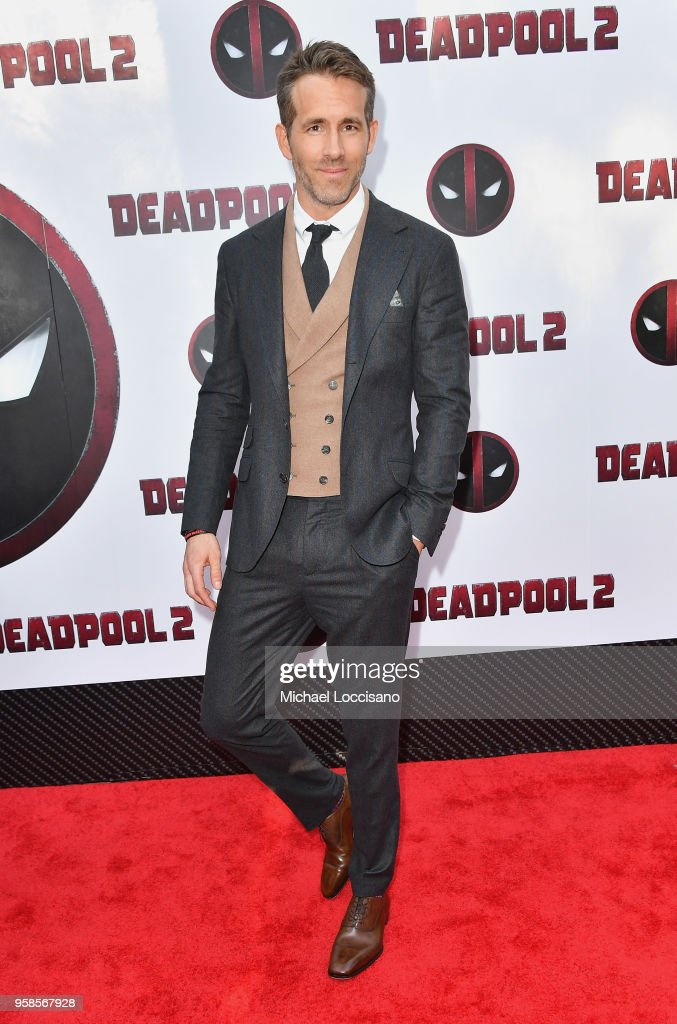Actor Ryan Reynolds attends the 'Deadpool 2' screening at AMC Loews Lincoln Square on May 14, 2018 in New York City.