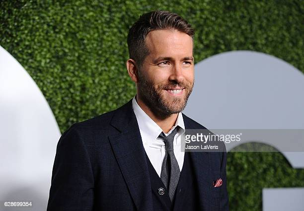 Actor Ryan Reynolds attends the GQ Men of the Year party at Chateau Marmont on December 8 2016 in Los Angeles California