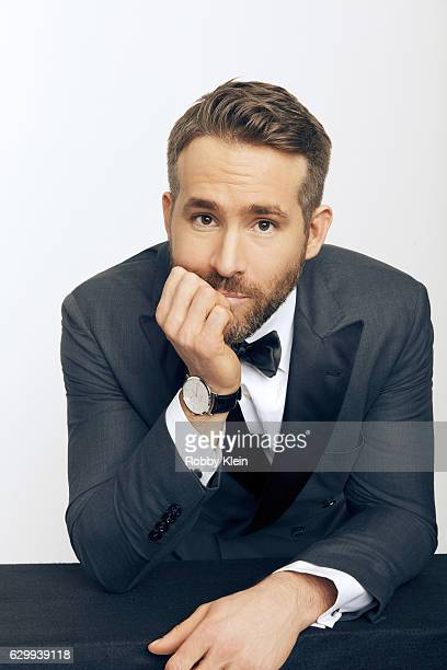 Actor Ryan Reynolds is photographed at the 22nd Critics Choice for Portrait Session on December 11 2016 in Santa Monica California