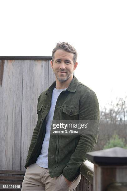 Actor Ryan Reynolds is photographed for Los Angeles Times on November 9 2016 in New York City