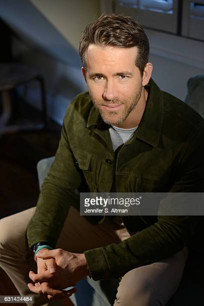 Actor Ryan Reynolds is photographed for Los Angeles Times on November 9 2016 in New York City PUBLISHED IMAGE