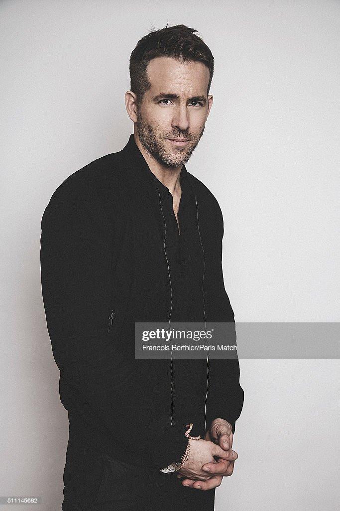 Ryan Reynolds, Paris Match Issue 3482, February 17, 2016