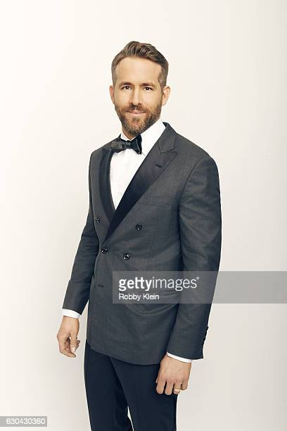 Actor Ryan Reynolds poses for a portrait during the 2016 Critics Choice Awards on December 11 2016 in Santa Monica California