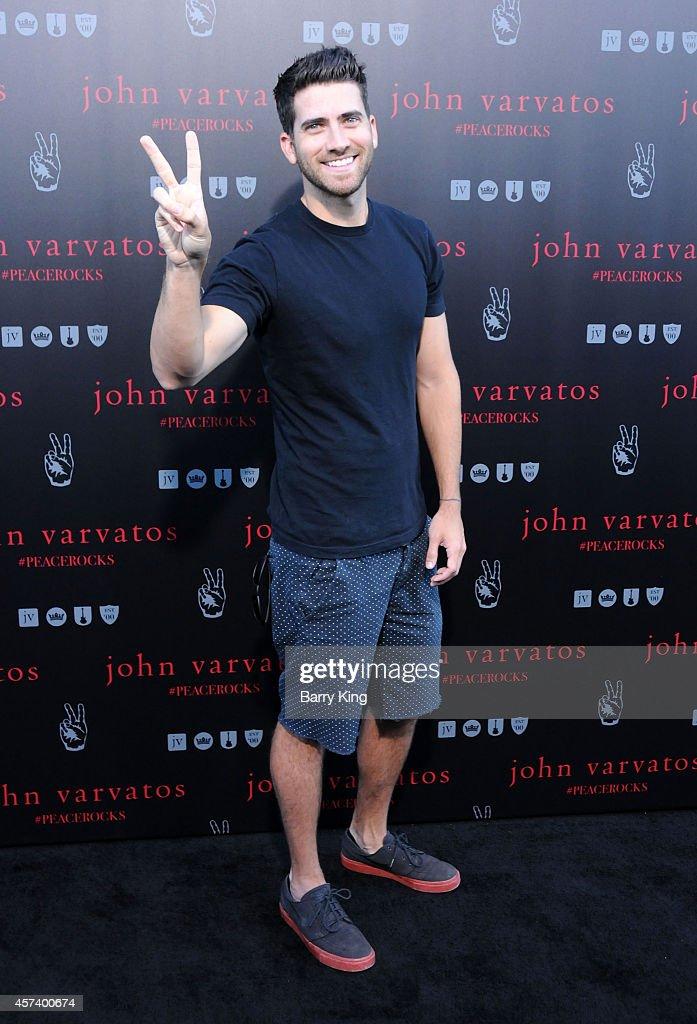 Actor Ryan Rottman attends the International Peace Day celebration at John Varvatos on September 21, 2014 in Los Angeles, California.