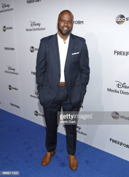 Actor Ryan Sands attends the 2017 ABC/Disney Media Distribution International Upfront at Walt Disney Studio Lot on May 21 2017 in Burbank California