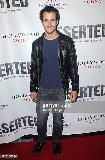 Actor Ryan Walker arrives for the Premiere Of Winterstone Pictures' 'Deserted' held at Majestic Crest Theatre on October 6 2016 in Los Angeles...