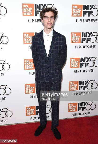 Actor Ryder McLaughlin attends the New York premiere of 'Mid90s' during the 56th New York Film Festival at Alice Tully Hall Lincoln Center on October...