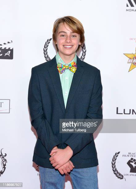Actor Ryker Baloun attends the Kash Hovey and Friends Film Block at Film Fest LA at Regal Cinemas LA LIVE Stadium 14 on November 09 2019 in Los...