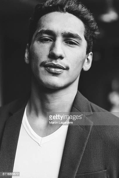 Actor Rykko Bellemare is photographed for Self Assignment on February 18 2016 in Berlin Germany