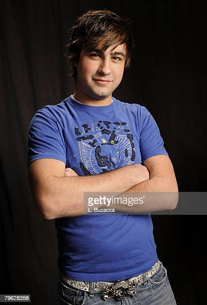Actor Ryne Sanborn poses at the Hollywood Life House on January 22 2008 in Park City Utah