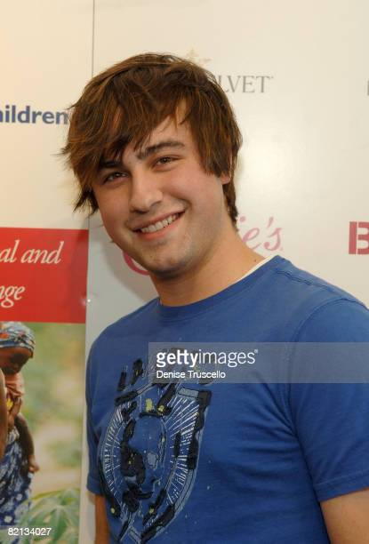Actor Ryne Sanborn visits the Iconix Gifting for a Cause Suite produced by Backstage Creations on January 22 2008 in Park City Utah