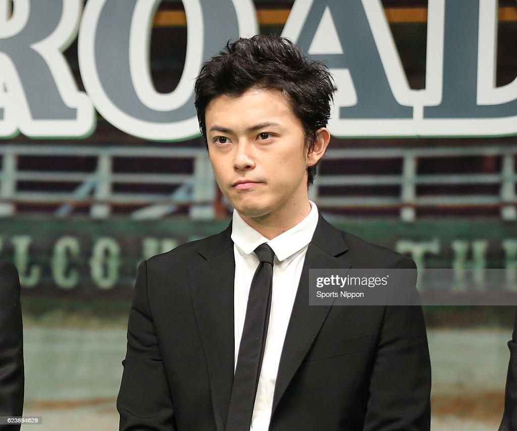 Ryo Katsuji Attends Press Conference In Tokyo : ニュース写真