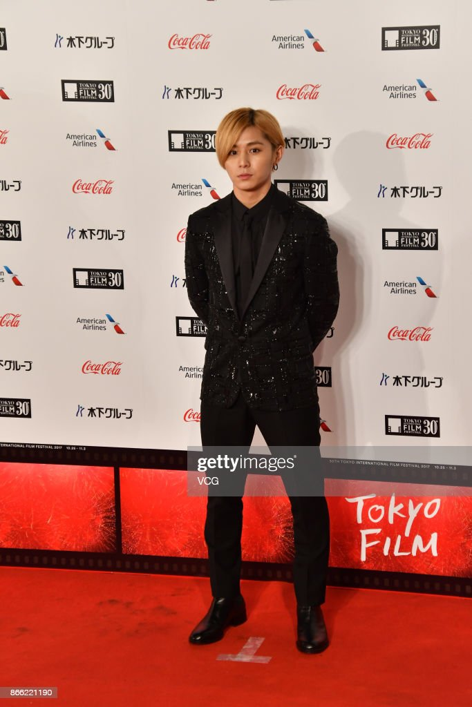 Actor Ryosuke Yamada arrives at the red carpet of the 30th Tokyo International Film Festival at Roppongi Hills on October 25, 2017 in Tokyo, Japan.