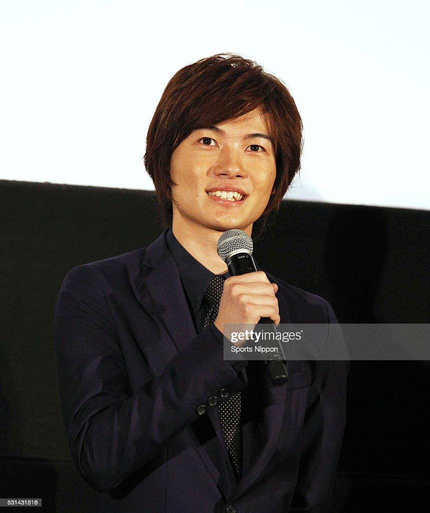 Ryunosuke Kamiki Attends Opening Day Greeting In Tokyo : News Photo