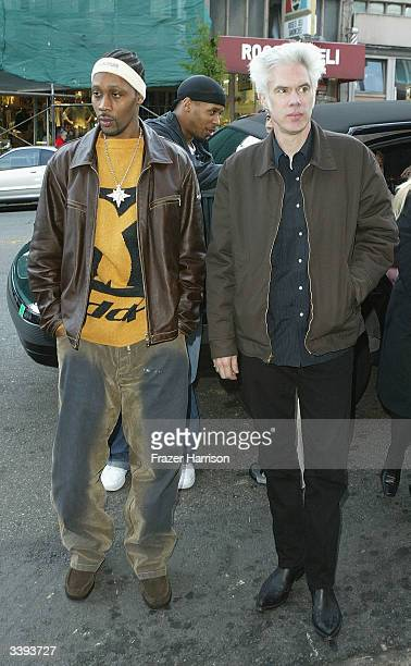 Actor Rza and Director Jim Jarmusch attend the Opening Night of the San Francisco Film Festival with a showing of Coffee and Cigarettes at the Castro...