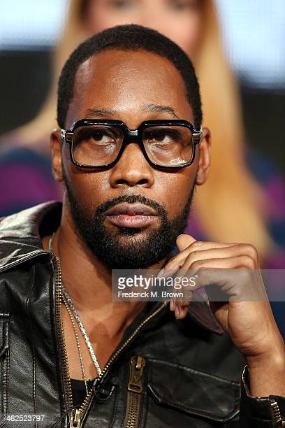 Actor Rza of the television show 'Gang Related' speaks during the FOX portion of the 2014 Television Critics Association Press Tour at the Langham...