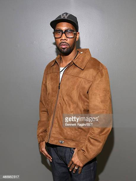 Actor RZA visits 106 Park at BET studio on April 21 2014 in New York City